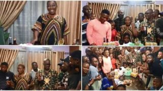 Beryl TV AMED-1-320x180 ANOTHER SURPRISE 47TH BIRTHDAY PARTY WAS THROWN BY ACTORS AND ACTRESSES OF JOHNSON FOR ACTRESS ADA AMEH. News Nigeria Daily Entertainment News | Top headlines | Celebrity News and lifestyle - Beryl Tv