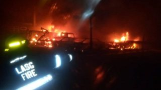 Beryl TV lagos-raze-fire-320x180 Many injured, vehicles razed as gas tanker explodes in Lagos News Nigeria Daily Entertainment News   Top headlines   Celebrity News and lifestyle - Beryl Tv