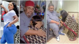 Beryl TV DES-DADDY-320x180 Actress Destiny Etiko Kneeled Down Before Pete Edochie As He Prayed for Her News Nigeria Daily Entertainment News   Top headlines   Celebrity News and lifestyle - Beryl Tv